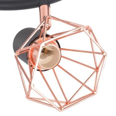 vidaXL Plafoniera con 3 Lampadine LED a Incandescenza 12 W[4/9]