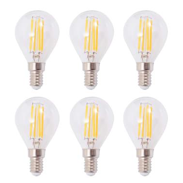 vidaxl deckenlampe mit 6 led gl hlampen 24 w g nstig. Black Bedroom Furniture Sets. Home Design Ideas