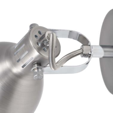 vidaXL Wall Lamps 2 pcs for 2 Bulbs E14 Grey[7/10]