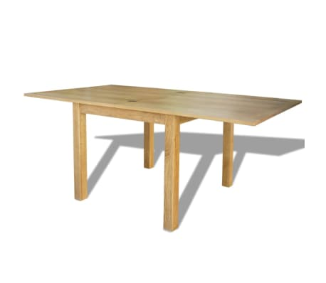 "vidaXL Extendable Table Oak 67""x33.5""x29.5""[2/7]"