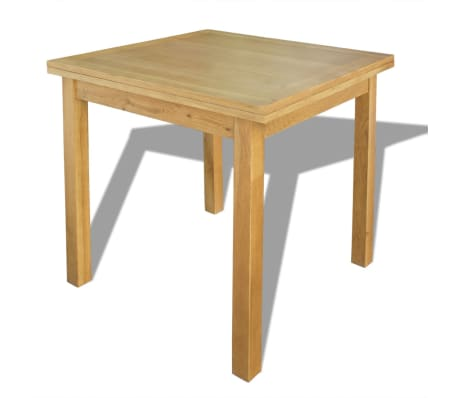 "vidaXL Extendable Table Oak 67""x33.5""x29.5""[3/7]"