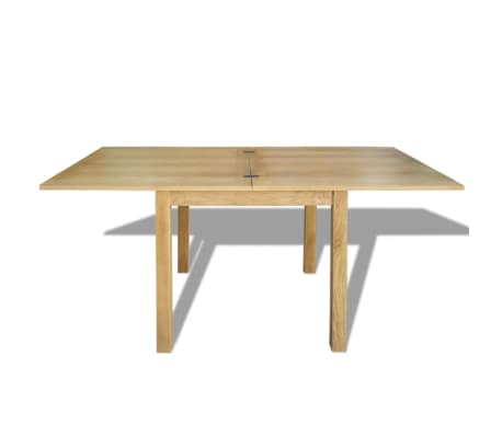 "vidaXL Extendable Table Oak 67""x33.5""x29.5""[4/7]"