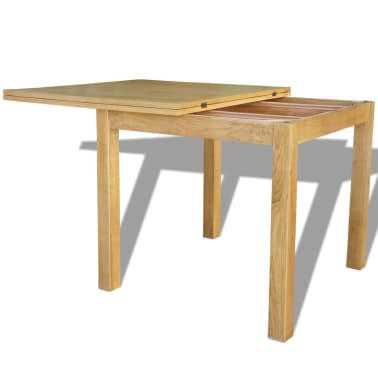 "vidaXL Extendable Table Oak 67""x33.5""x29.5""[5/7]"
