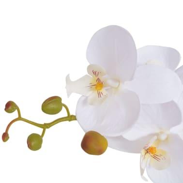 Acheter vidaxl plante artificielle avec pot orchid e 65 cm for Plante artificielle solde