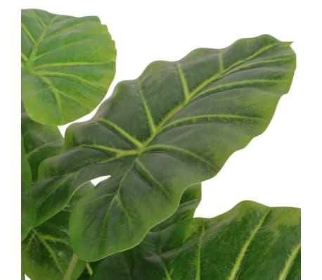 vidaXL kunstig taro-plante med potte 45 cm grøn[2/2]