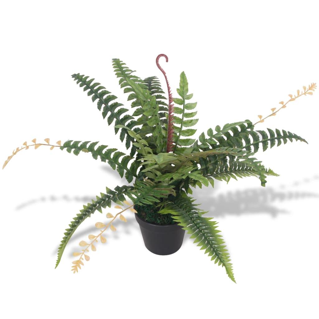 99244437 Künstliche Farnpflanze mit Topf 50 cm Grün