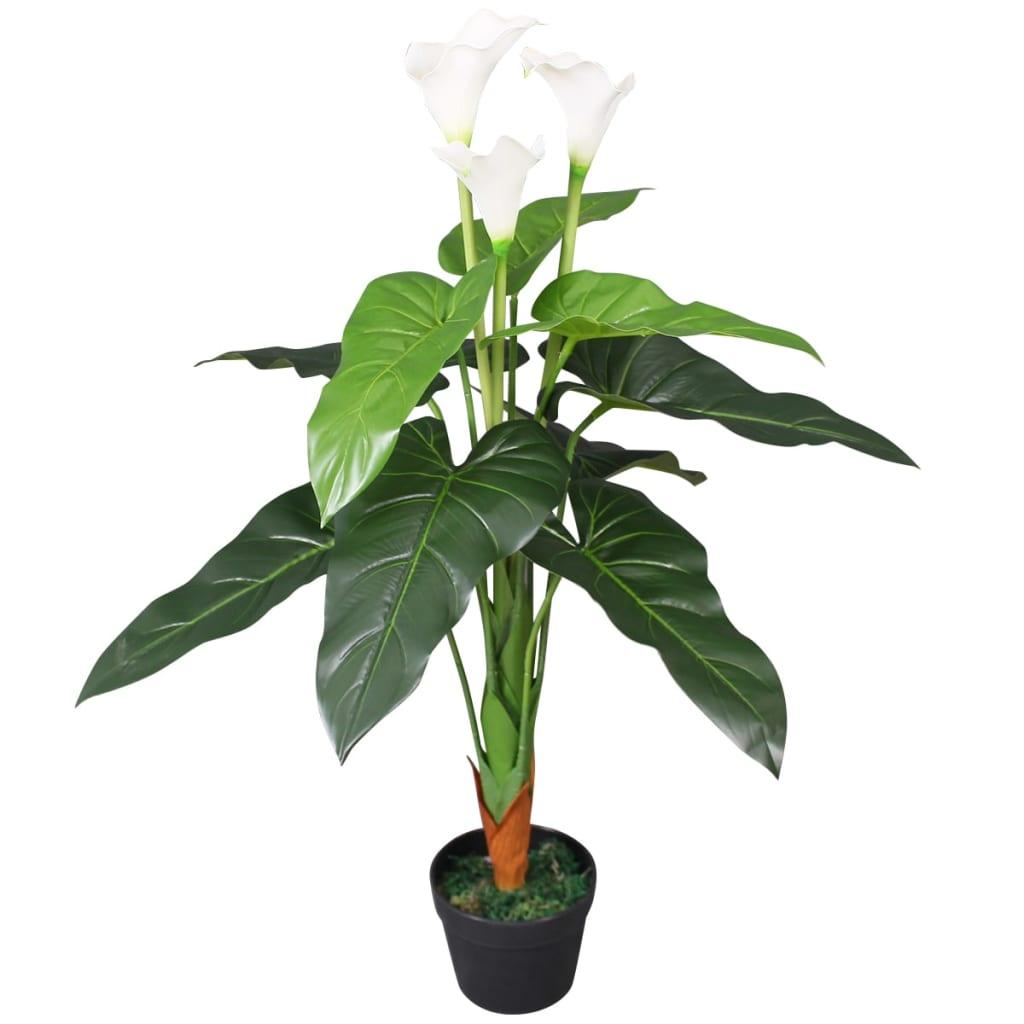 99244445 Künstliche Calla-Lilie mit Topf 85 cm Weiß