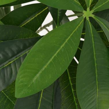 vidaXL Kunst watercacao plant met pot 85 cm groen[2/2]