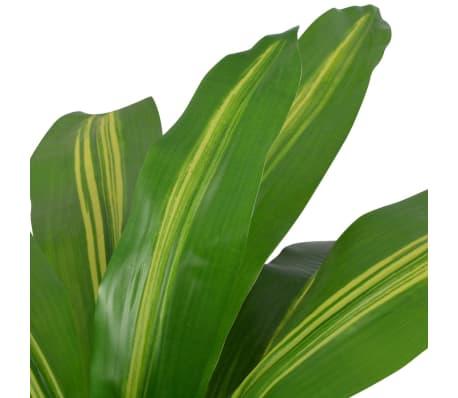 "vidaXL Artificial Dracaena Plant with Pot 35.4"" Green[2/2]"