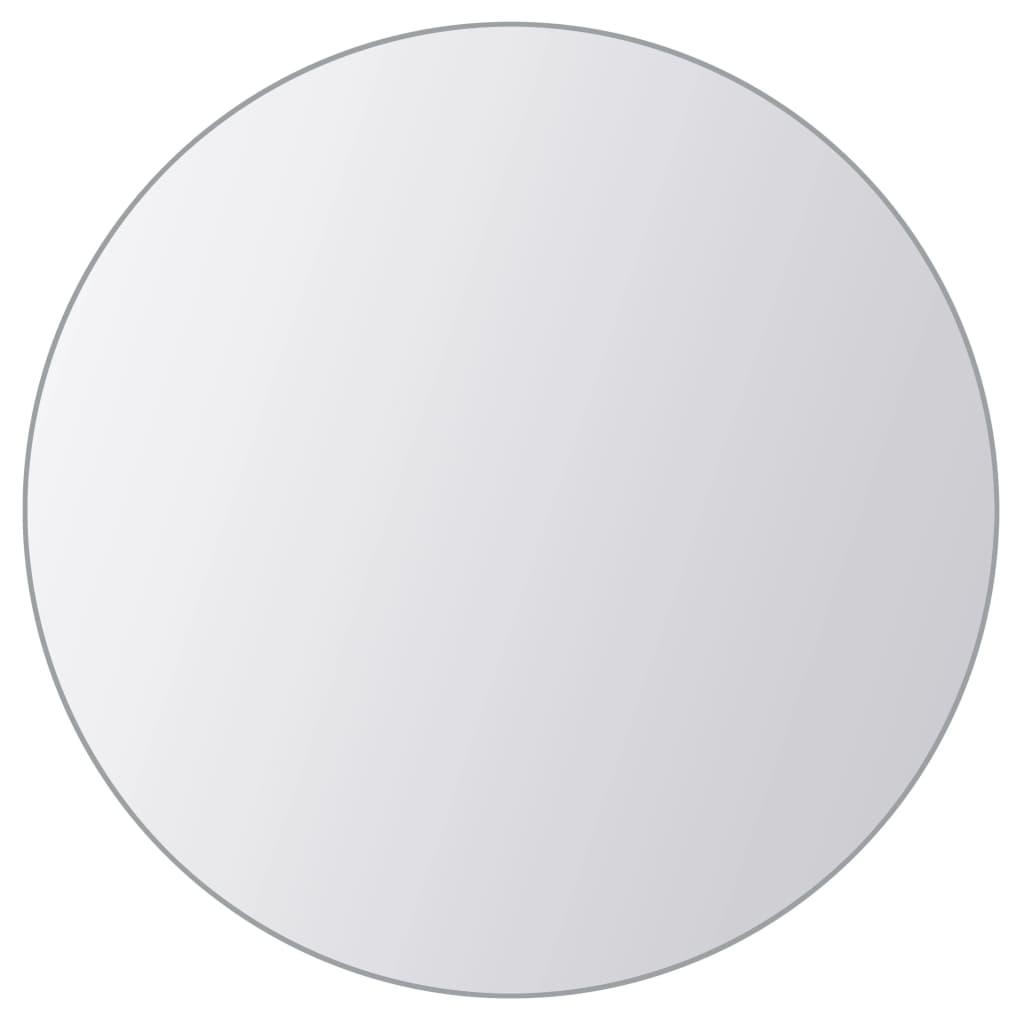 vidaXL Spiegeltegels meervormig glas 8 st