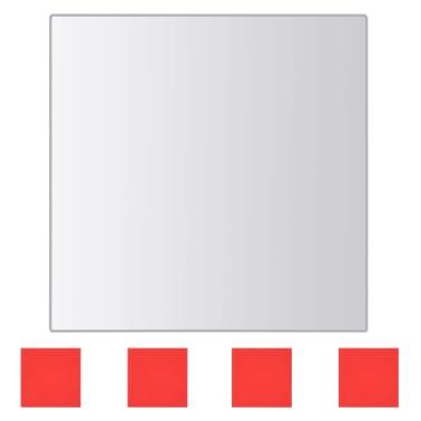 vidaXL Spegelplattor 24 st fyrkantig spegelglas[5/7]