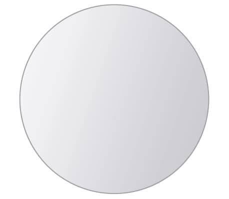 vidaXL Plăci de oglindă rotunde, sticlă, 8 buc[5/5]