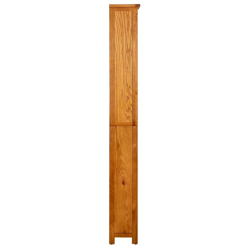Scaffalature In Legno Per Libri.Vidaxl Libreria A 6 Ripiani In Legno Mensole Scaffali Mobiletto