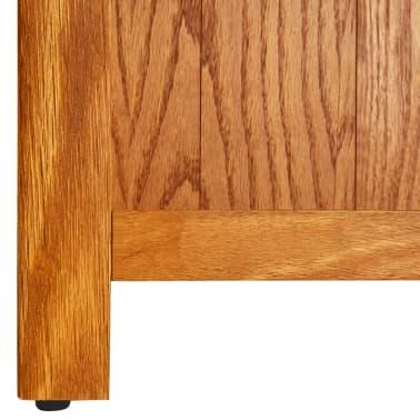 vidaXL Knygų spinta su 6 lentynomis, 80x22,5x180cm, ąžuolo med. mas.[5/5]