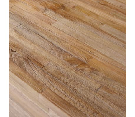 vidaXL Šoninis staliukas, tikmedis, 60x60x38cm[5/6]