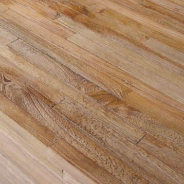 vidaXL Kavos staliukas, tikmedis, 110x45x35cm[5/6]