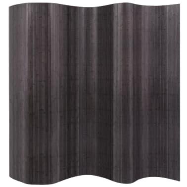 vidaXL rumdeler bambus grå 250 x 195 cm[1/4]