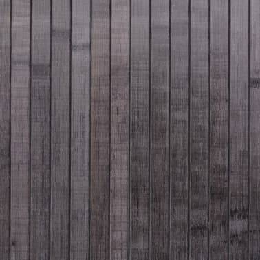 vidaXL rumdeler bambus grå 250 x 195 cm[4/4]