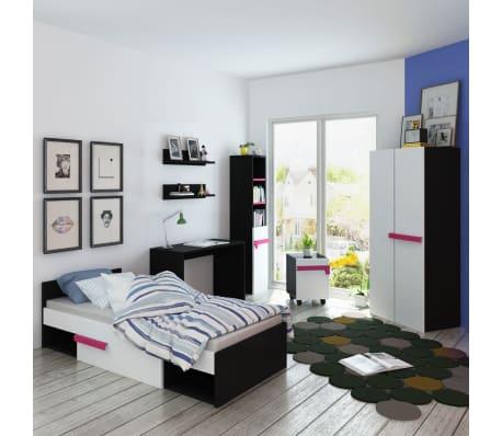vidaXL Achtteiliges Kinderschlafzimmer-Set mit Matratze Rosa günstig ...