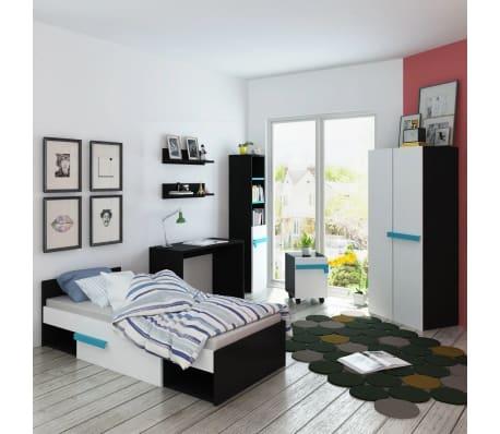 Vidaxl mobili camera da letto bambini con materasso 8 pz - Mobili camera bambini ...