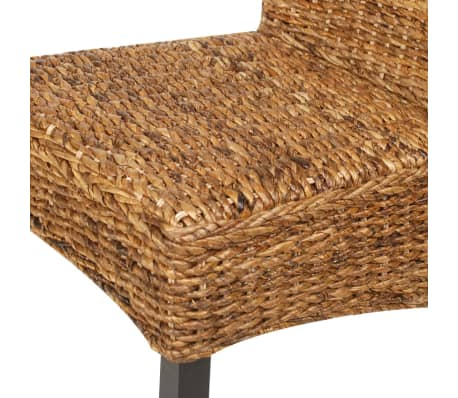 vidaXL Dining Chairs 6 pcs Abaca Brown[7/10]