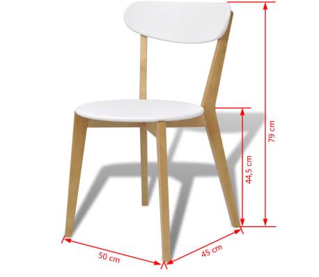 vidaxl esszimmerst hle 6 stk mdf und birkenholz g nstig kaufen. Black Bedroom Furniture Sets. Home Design Ideas