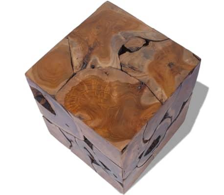 vidaXL Stools/Coffee Table Solid Teak[7/12]