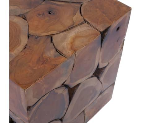 vidaXL Stools/Coffee Table Solid Teak[9/12]