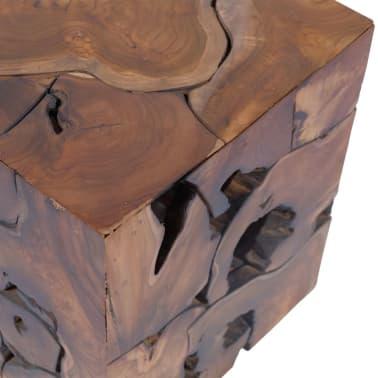 vidaXL Stools/Coffee Table Solid Teak[10/12]