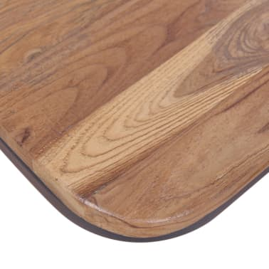 vidaXL Krzesła do jadalni, 4 szt., drewno tekowe[10/11]