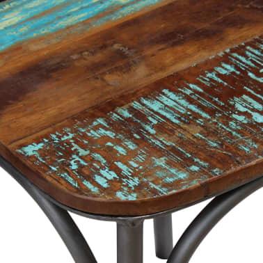 "vidaXL Dining Chairs 4 pcs Solid Reclaimed Wood 20""x20.5""x33""[4/9]"