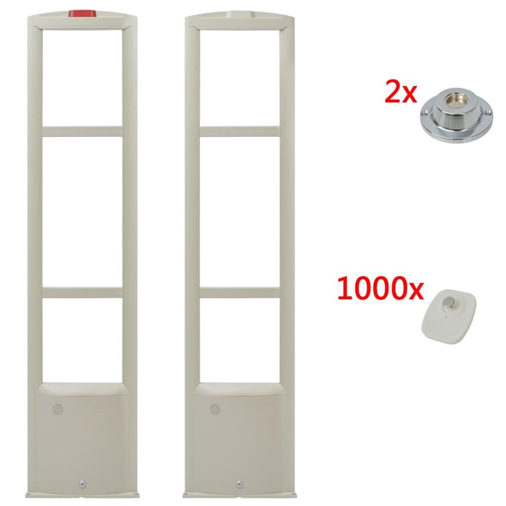 Turvamärkide ja eemaldajatega RF-antenni süstee..