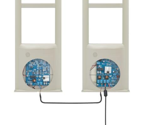 vidaXL Système d'antenne RF avec étiquettes et détacheurs 8,2MHz Blanc[9/16]