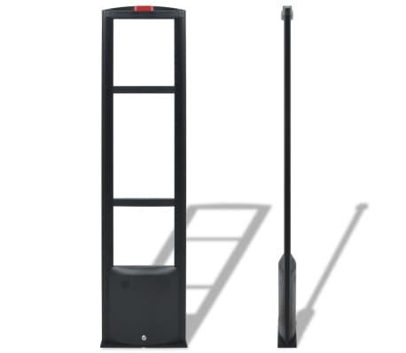 vidaXL RF-antennesystem med alarmbrikker og alarmbrikfjernere 8,2 MHz sort[4/16]