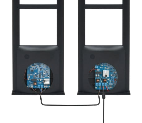 vidaXL RF-antennesystem med alarmbrikker og alarmbrikfjernere 8,2 MHz sort[7/16]