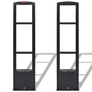 vidaXL RF-antennesystem med alarmbrikker og alarmbrikfjernere 8,2 MHz sort[3/16]