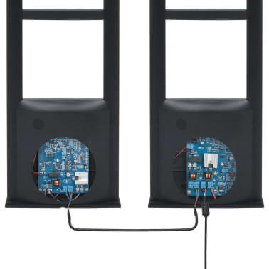 vidaXL RF-antennesystem med alarmbrikker og alarmbrikfjernere 8,2 MHz sort[8/16]