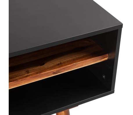 vidaXL Woonkamer meubelset massief acaciahout 4-delig online kopen ...