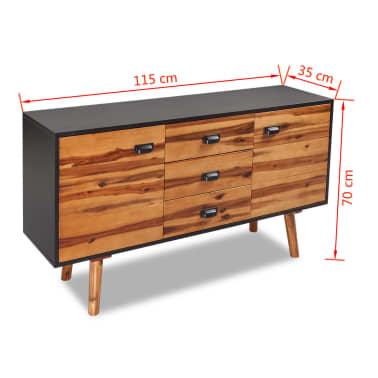 Vidaxl Bedroom Furniture Set 4 Pieces