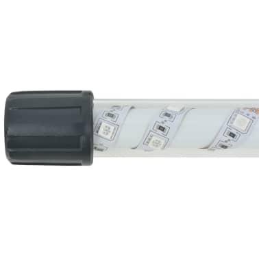 vidaXL Градински комплект габион кошница, стъклени камъни и LED лампа[16/25]