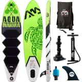Aqua Marina SUP-brett Thrive grønn 300x75x15 cm