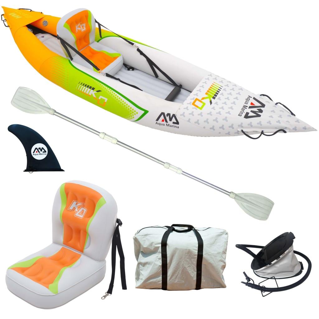 Aqua Marina Caiac gonflabil Betta HM K0 pentru o persoană, multicolor vidaxl.ro