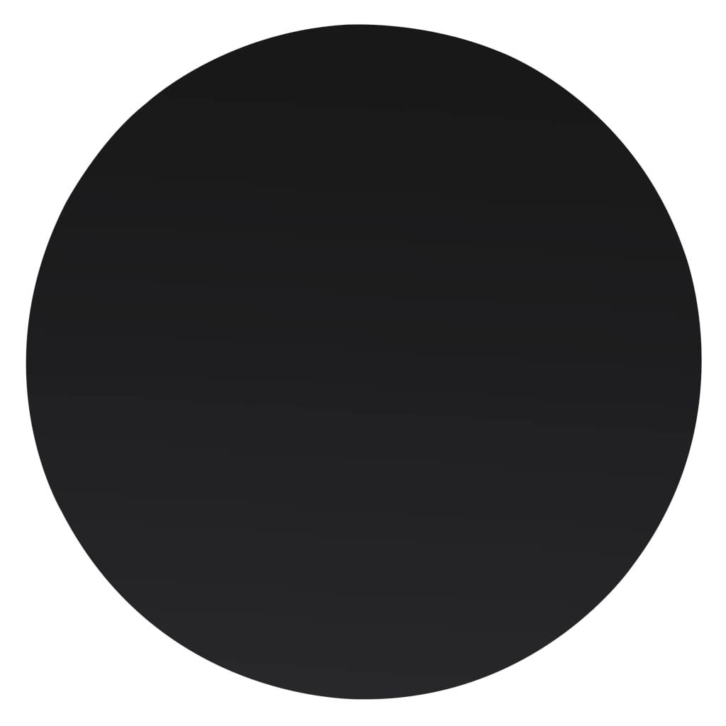 vidaXL Tafelblad van gehard glas 600 mm rond
