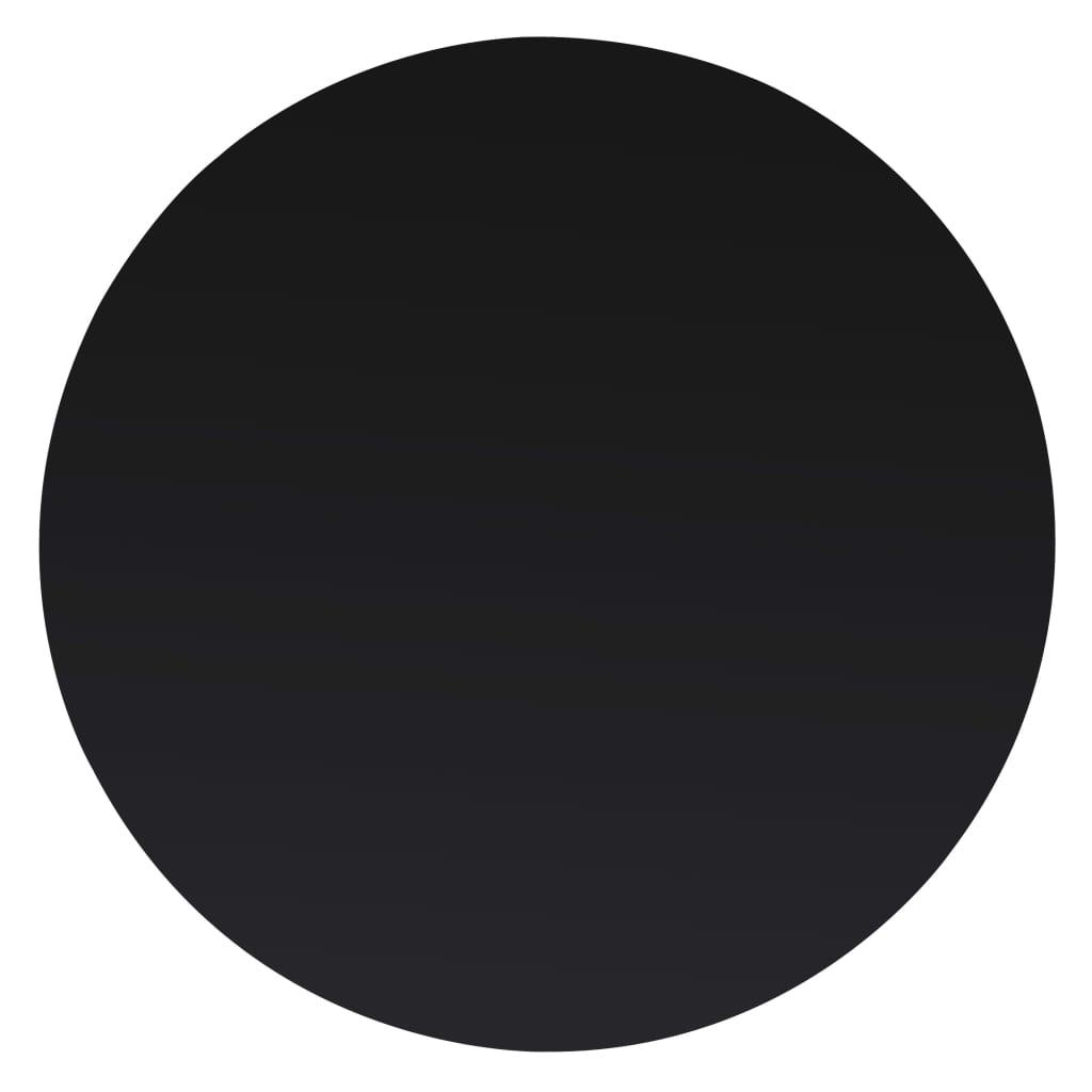vidaXL Tafelblad van gehard glas 800 mm rond