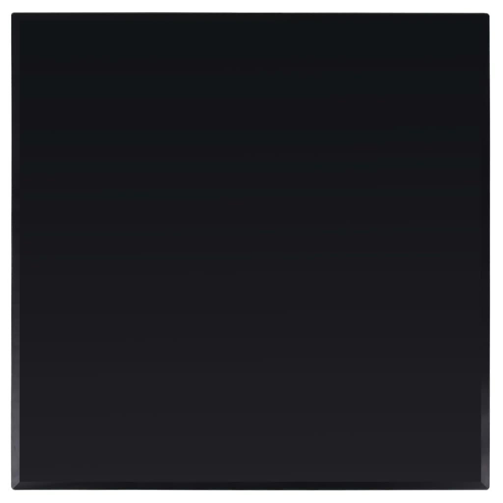 vidaXL Blat de masă din sticlă securizată, pătrat, 800 x 800 mm imagine vidaxl.ro