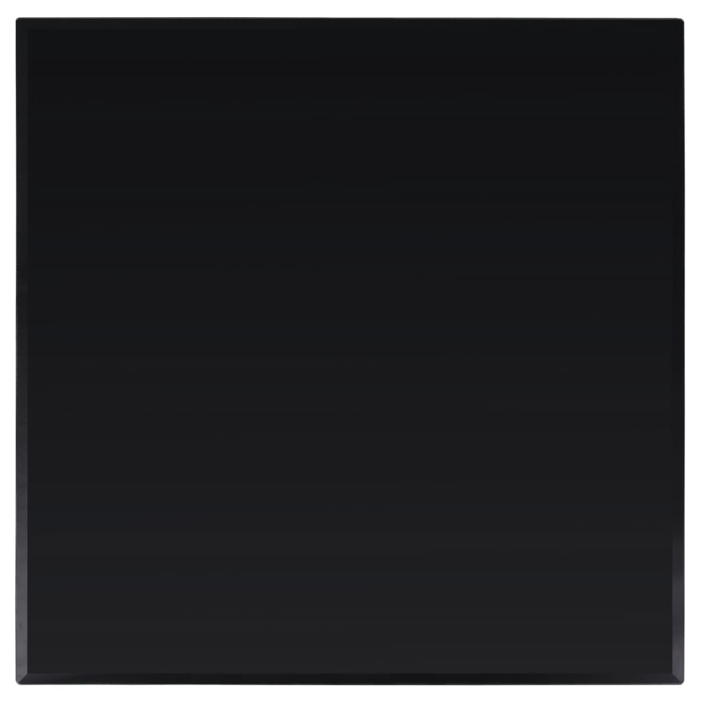 vidaXL Tafelblad van gehard glas 800x800 mm vierkant