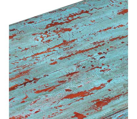 vidaXL Kavos staliukas, masyvi perdirbta mediena, 110x60x34cm[7/9]