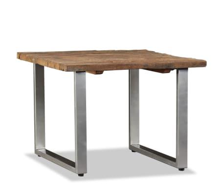 vidaXL Table basse Bois de traverses massif 55 x 55 x 40 cm[2/9]