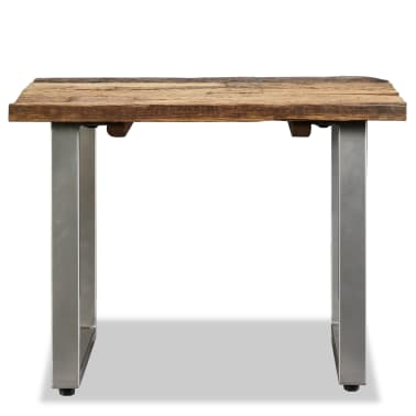 vidaXL Table basse Bois de traverses massif 55 x 55 x 40 cm[6/9]
