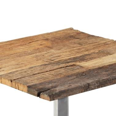 vidaXL Table basse Bois de traverses massif 55 x 55 x 40 cm[7/9]